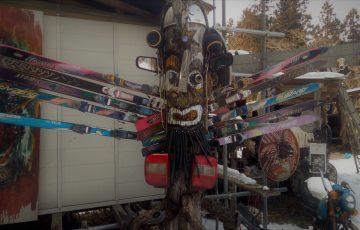 群馬桐生市のガラクタ芸術家